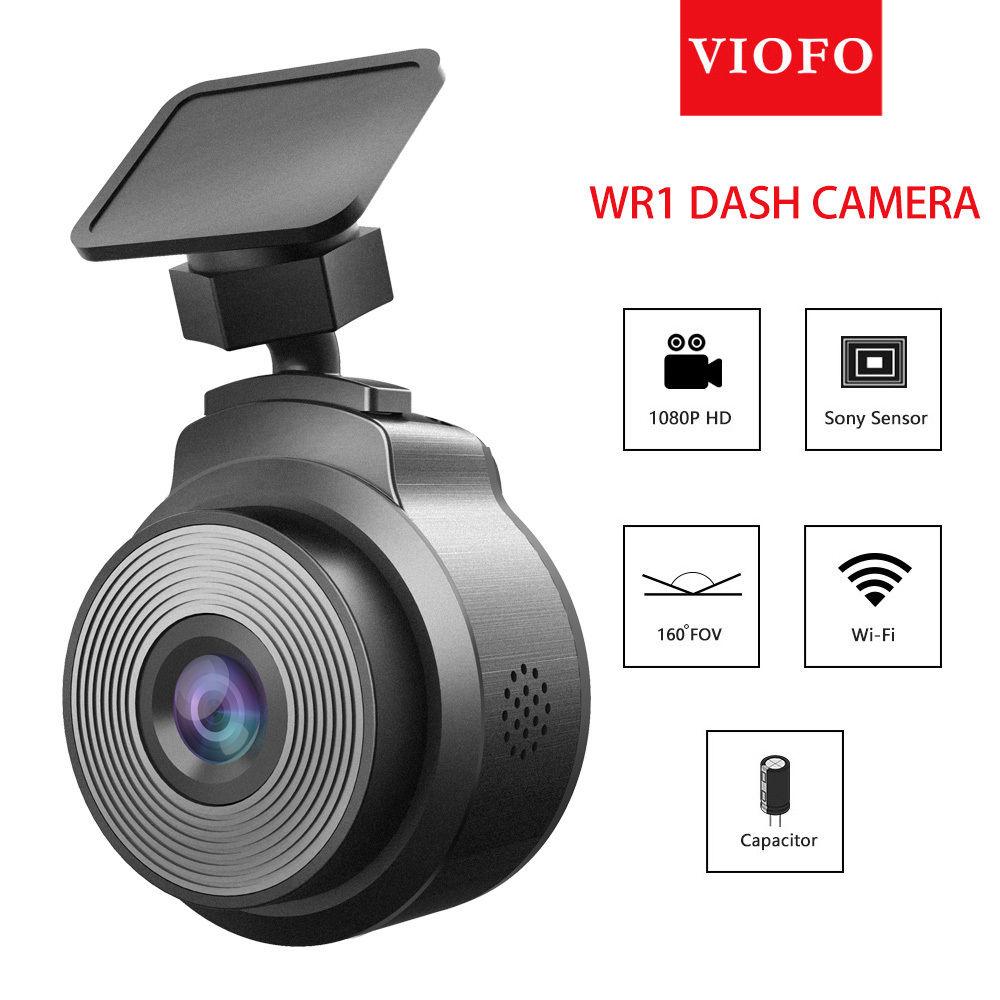 VIOFO WR1 Capacitor IMX323 Sensor Wifi HD 1080P 30fps Car Dash Camera DVR Recorder Motion Detection Novatek 96655 plusobd car video camera for bmw 5 series e60 e61 hd dvr 1080 cycle recording motion detection novatek 96655 with apps control