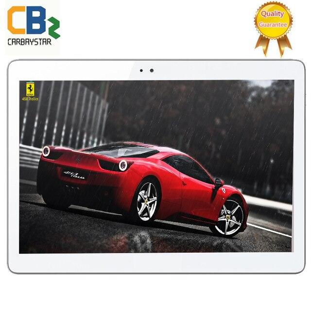 CARBAYSTAR K109 Android 6.0 планшетные пк 10.1 дюймов tablet PC смартфон 4 Г LTE окта основные 1920x1200 4 + 64 Dual SIM GPS IPS FM таблетки
