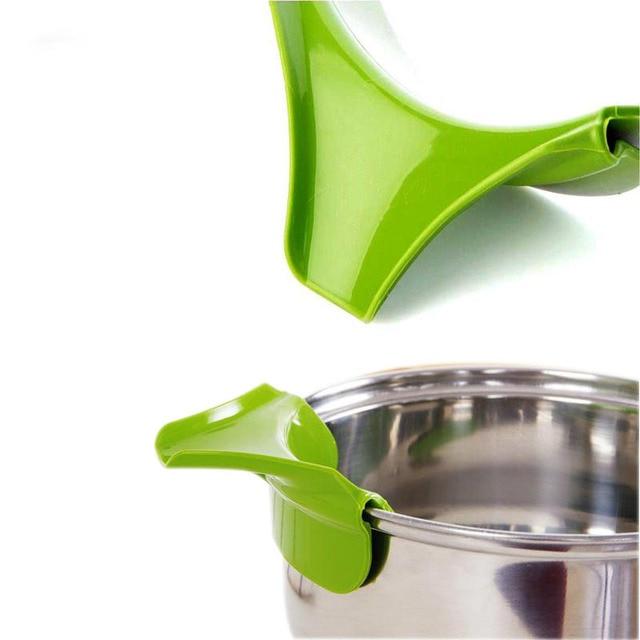 FEIGO outils de cuisine en Silicone   Pièces, soupe liquide, trémie de soupe résistant aux dégâts, déviateur de bord, ustensiles de cuisine en Silicone, entonnoir accessoires de cuisine meilleurs vendeurs F832 1 pièces