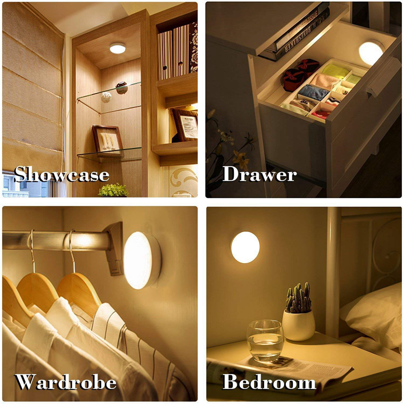 6 LED Night  Light With Motion Sensor 10