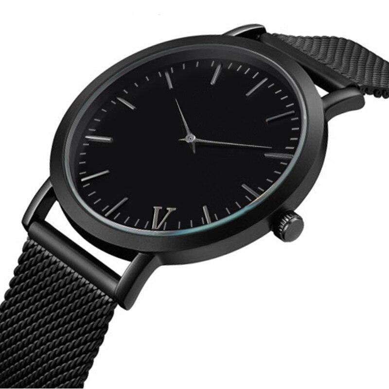 Top Luxury Brand font b Men s b font font b Watch b font Stainless Steel