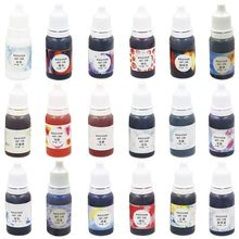 10g DIY Three Generations Fine Crystal Epoxy Dyes Color Rendering Fluid Hand-Made Jewelry Accessories Multi-color optional