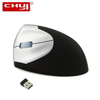 Wireless Left Hand Mouse Ergonomic Vertical Optical Mouse with USB Receiver Mice Mause Wrist Healing for Computer Gaming Mouse