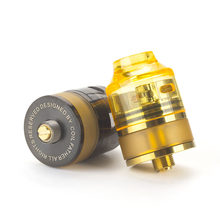 New coil father Nano RDTA 22mm atomizers for Electronic Cigarettes box mod compatible Diy heating coils(China)