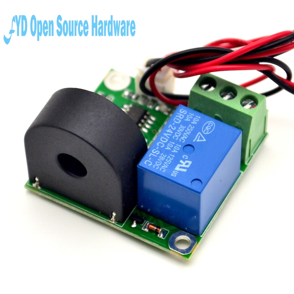 1pcs 12v Ac Current Detection Module 0 5a Sensor W Check Circuit Tester For 3 Wire 125v Circuits Relay In Integrated From Electronic Components Supplies On