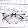 Ретро круглые очки металлический каркас мужчины очки Кадров Очки женщин Близорукости Очки Кадр óculos де грау 6163