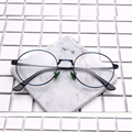 Retro óculos redondos metal frame Óculos homens prescrição Armações de Óculos mulheres Miopia Óculos de Armação oculos de grau 6163