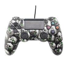 Wireld PS4 aplicável para PC Do Jogo de Computador Controlador de Jogo Gamepad