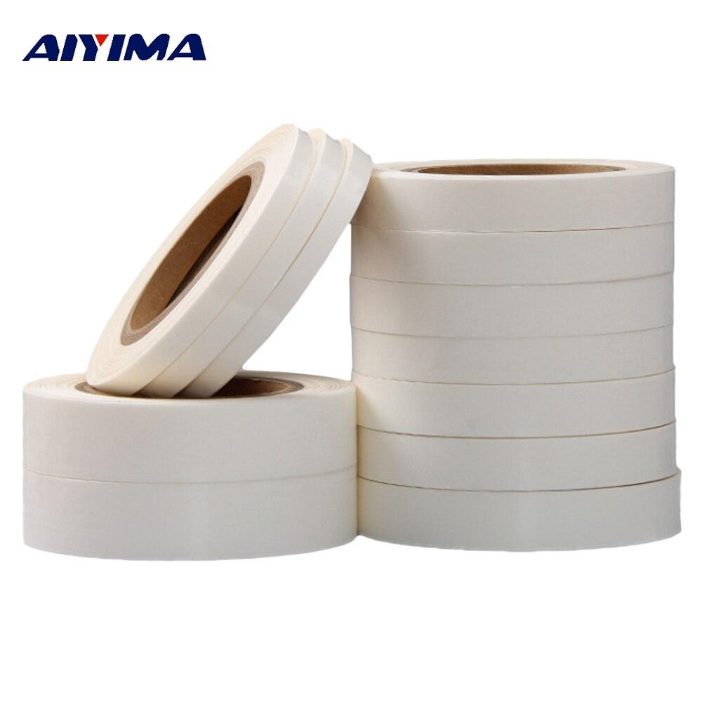 1 stück TPU Heißer Schmelzen Wärme Naht Dicht Band Wasserdicht Weiß Hot-Melt 50 mt Meter 10/12 /15/20/24/30mm Breiten Masking Kleidung Bänder