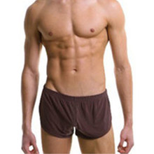 Sexy Men Running Shorts Beach Boards Low Waist Sportswear Men's Fitness Gym Underwear(China)