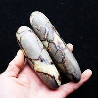 Easy Crystal Edge Crystal Gravel Natural Turtle Back Stone Original Stone Carving Long Bar Massage Stick Money Hand Paper Play
