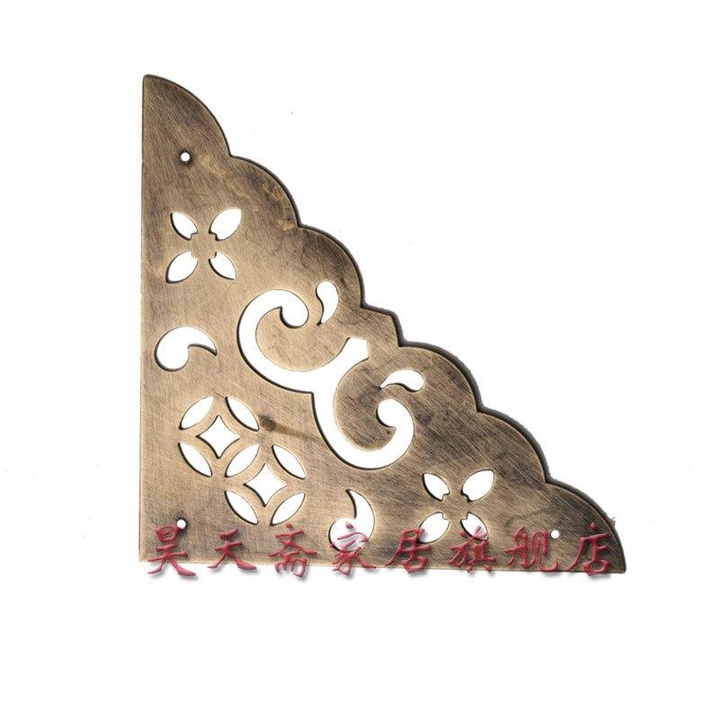 купить [Haotian vegetarian] antique copper corners /10.5cm gusset / Chinese fitting HTG-0124t7 дешево
