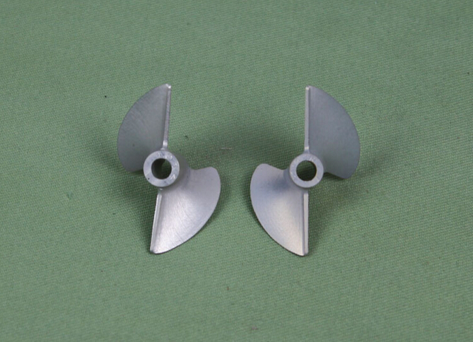 Rc Propeller CNC Left & Right Prop 438 For 4.76mm 3/16 Shaft Rc Boat