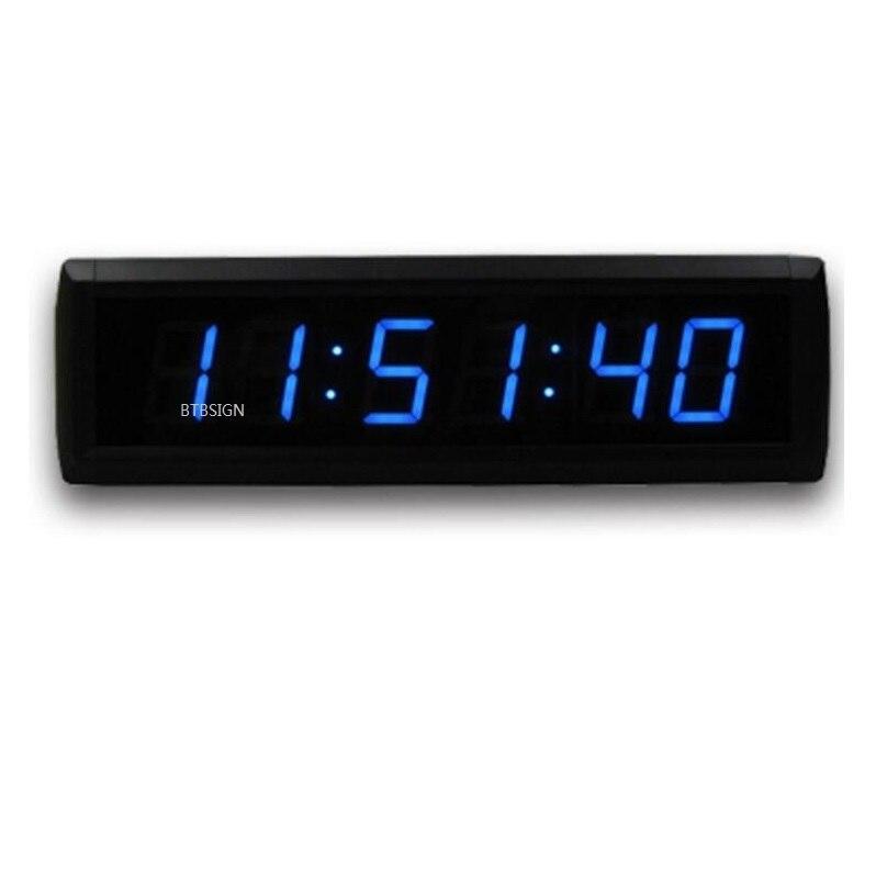 aliexpress acheter coloré led 7 segments 6 chiffres horloge