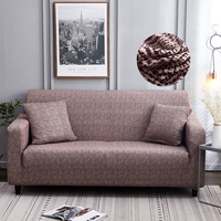 1/2/3/4 Seats Living Room Decor Sofa Cover Elastic Spandex Corner Plaid Sectional Couch Cover Protector Anti dirty Slipcovers