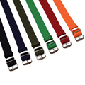 1 PCS / Wholesale Fashion Nylon Woven Watchband Watch Strap 20mm 22mm for Nato Perlon Watch Strap