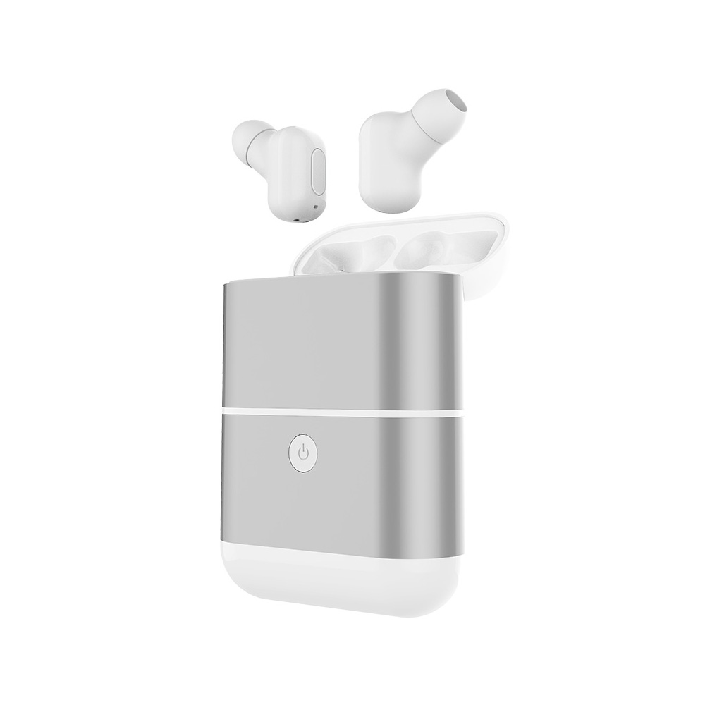 Earphones Bluetooth 4.2 Earphone Headset Twins Bass Stereo In-Ear Mini True Wireless Two Earphone With Charger Box IPX5