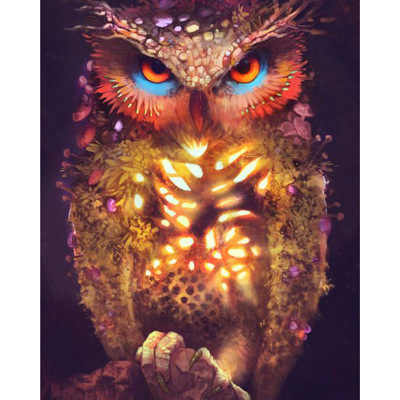 Diamond Embroidery 5D Animal owl DIY new Diamond Painting  Full drilling Cross stitch Wall Art Picture