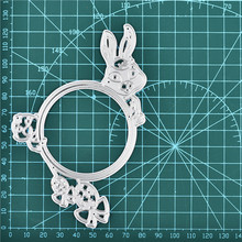 DiyArts Bunny Animal Dies Metal Cutting New 2019 for Card Making DIY Scrapbooking Embossing Cuts Stencil Craft