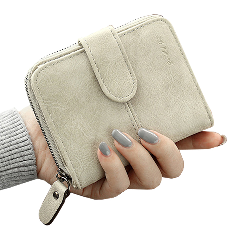 Women Wallet Leather Card Coin Holder Money Clip Short Clutch Scrub Dollar Price Photo Cash Pocket Luxury Brand Female Hot dc movie hero bat man anime men wallets dollar price short feminino coin purse money photo balsos card holder for boy girl gift