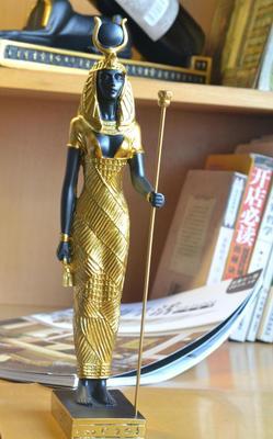 Maison cadeaux artisanat résine 13 pouces dieu égyptien de puissance Horus Falcon moyenne Statue à collectionner Figurine bureau œuvre décoration