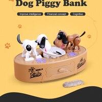 Cartoon Robotic Dog Banco Money Box Money Bank Automatic Stole Coin Piggy Bank Money Saving Banks Kids Birthday Gift Money box