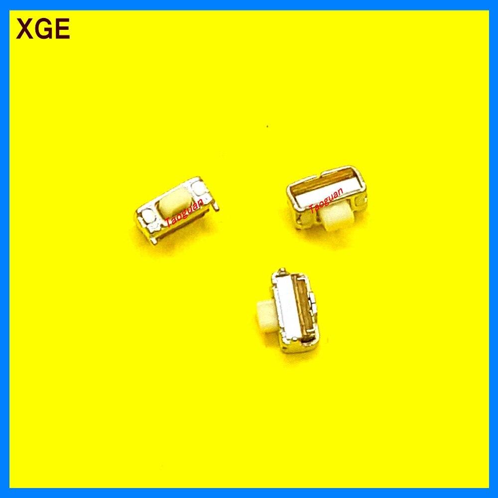 っ100 unids XGE nuevo 4mm pequeño interruptor de energía lateral del ...