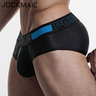 Brand Penis Sexy Underwear Briefs Men Mesh Sexy Underpants Cueca Masculina U Pouch Cotton Male Panties Mens briefs Gay Underwear