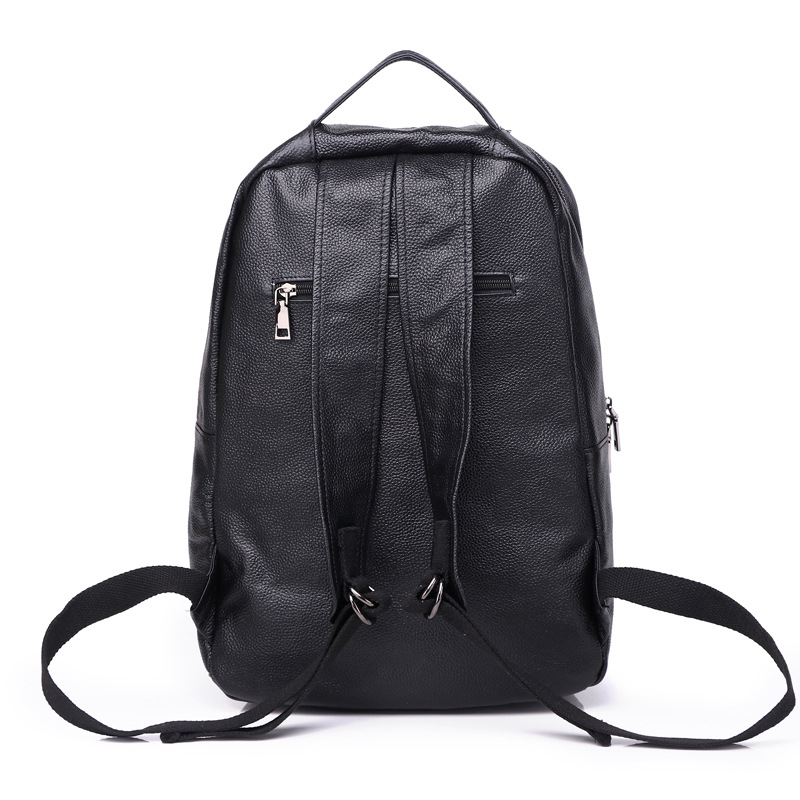 Mochila De Cuero BOSTANTEN mochilas de viaje grandes para hombre mochila de negocios 13 14 15 pulgadas para ordenador portátil mochila antirrobo bolsa de ordenador - 4