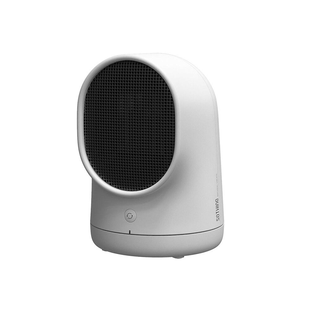 Warmbaby Heater 500W Home Small Personal Electric Heater Fan Office Desktop Heater Household Energy Saving