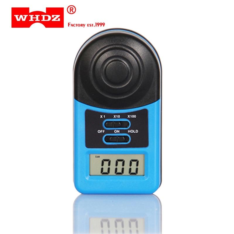 WHDZ LX1010A numérique 200,000 Lux mètre illuminomètre photomètre luxmètre luminomètre Mini poche taille