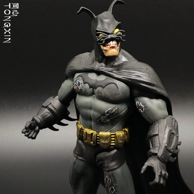 Abnormal Batman Agam Knight Justice League Superman Hand Action Figure Toy Model abnormal psychology 4e
