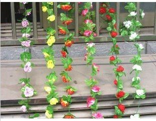 10pcs/lot Free shipping Artificial Small peony flower vine,Wedding decoration rattan,house decoration