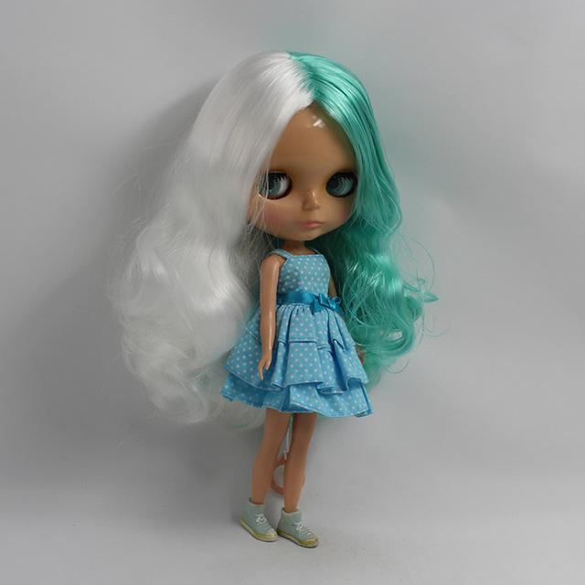 Factory Neo Blythe Doll Mint White Hair Regular Body 30cm