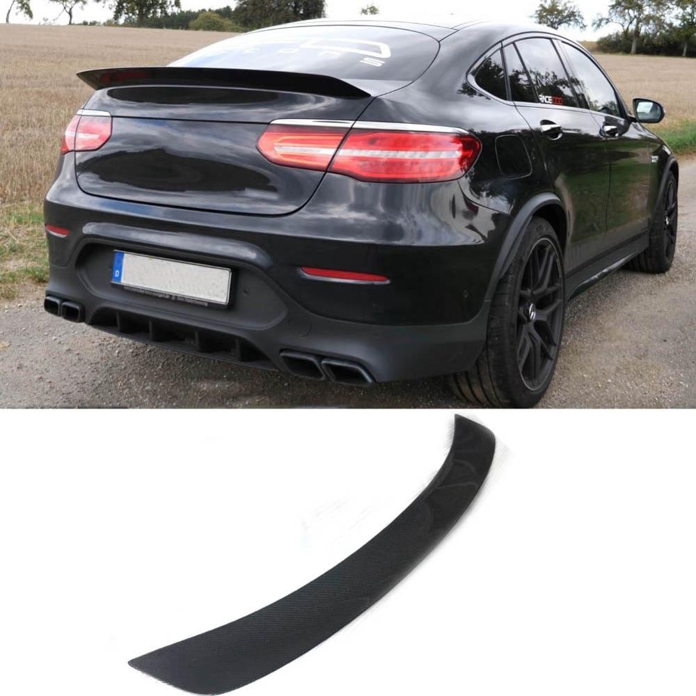 Glc gad Saqueador Asa Traseira Do Carro Spoiler de fibra de carbono estilo Para Mercedes Benz Coupe GLC GLC250 GLC260 GLC300 GLC63 2016 -2019