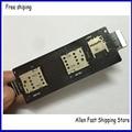 Original Ranura Para Tarjeta de Sim Titular Flex Cable Para ASUS Zenfone 2 ZE550ML ZE551ML Sim Lector Flex Reemplazo