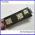 Original Sim Card Slot Soquete Titular Flex Cable Para ASUS Zenfone 2 ZE550ML ZE551ML Sim Leitor Flex Substituição