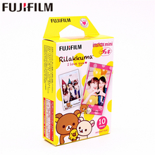 Original Fujifilm 10 sheets Instax Mini RILAKKUMA Instant Film photo paper for Instax Mini 8 7s 25 50s 90 9 SP-1 SP-2 Camera