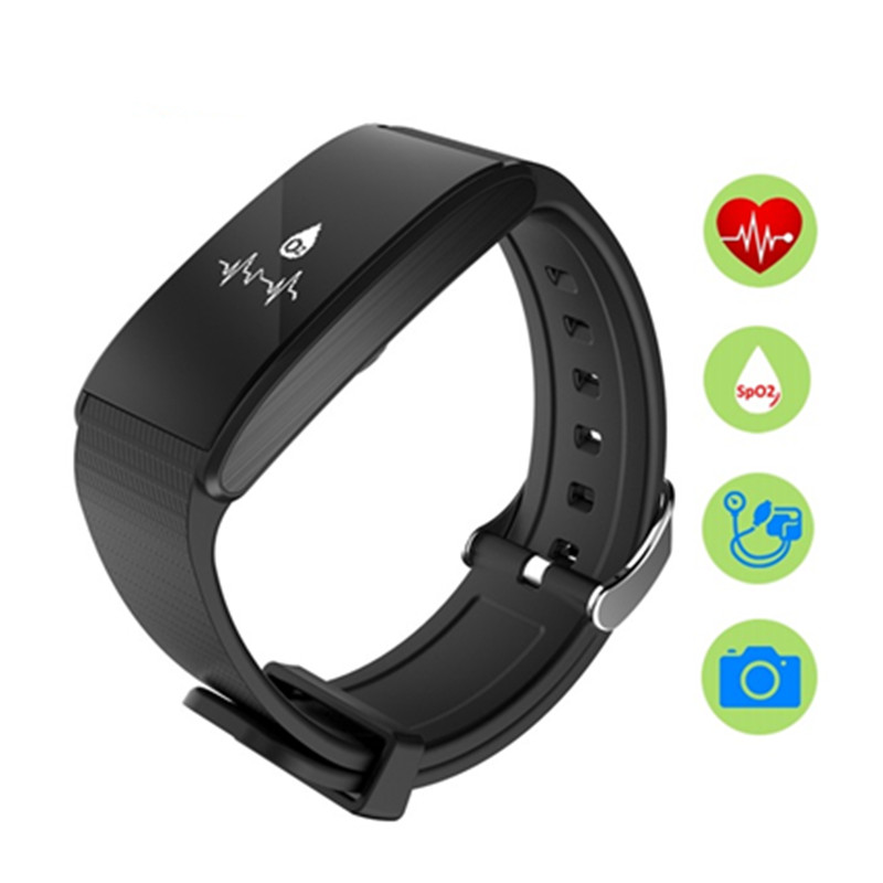 FineFun New Bluetooth4 0 Smart Wristband A58 Heart Rate Monitor Blood pressure Waterproof Swimming Smart Bracelet