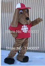mascot Dog With Hat mascot costume custom fancy costume anime cosplay kits mascotte theme fancy dress carnival costume