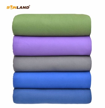 Sunland Microfiber Beach Towel Large Size Sports Swimming Camping Yoga Towel With Stakes Backpack Quick Drying 192cmx160cm