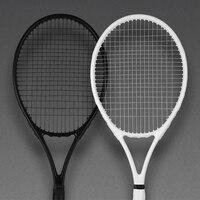 40-55 фунтов ультралегкие черные теннисные ракетки карбоновые ракетки Raqueta Tenis ракетки для бадминтона Stringing 4 3/8 ракетки tennisракетки
