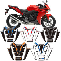 For Honda CBR500R 2014 2015 Fish Motorcycle 3D Fuel Tank Protective Stickers Decals