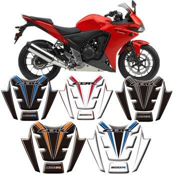 Pegatinas protectoras para Honda CBR500R 2014 2015 Fish Motorcycle 3D tanque de combustible