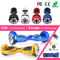Hover board 6.5 Inch Electric Skateboard Smart Self Balance Scooter 2 Wheel Hoover Boosted Walk Car Unicycle EU RU Warehouse
