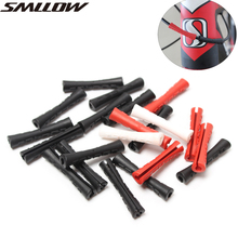 SMLLOW 4Pcs Bicycle Sleeve Rubber Protector For Pipe Line Brake Shift 2Colors