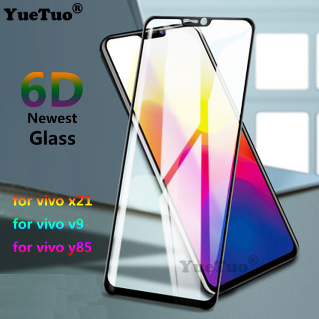 Yuetuo 6d Curved Protective Screen Protector Tempered Glass For Vivo