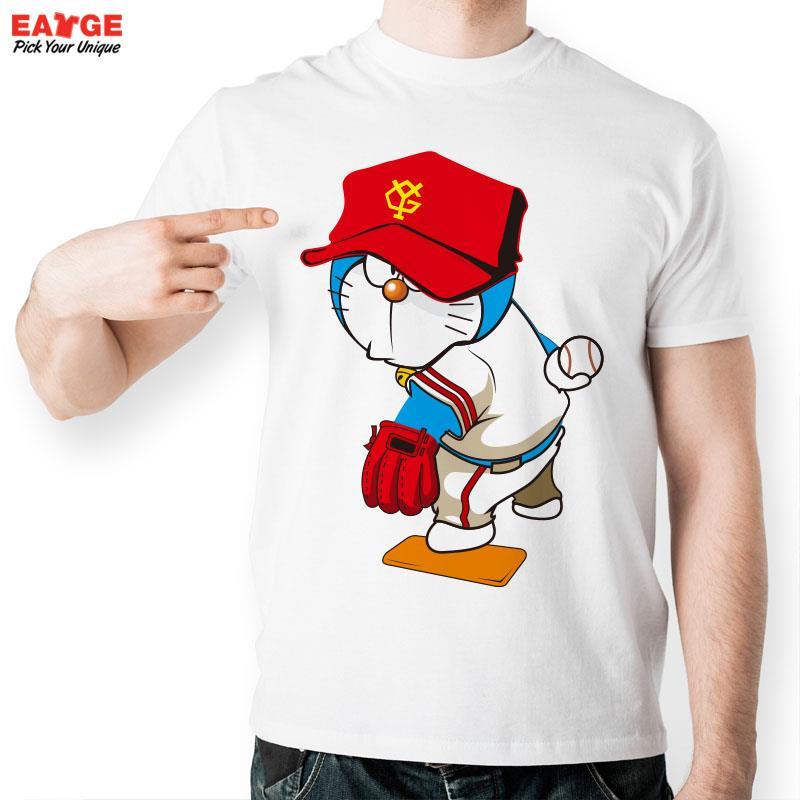 Baseball Player T Shirt Design Inspired By Japanese Anime