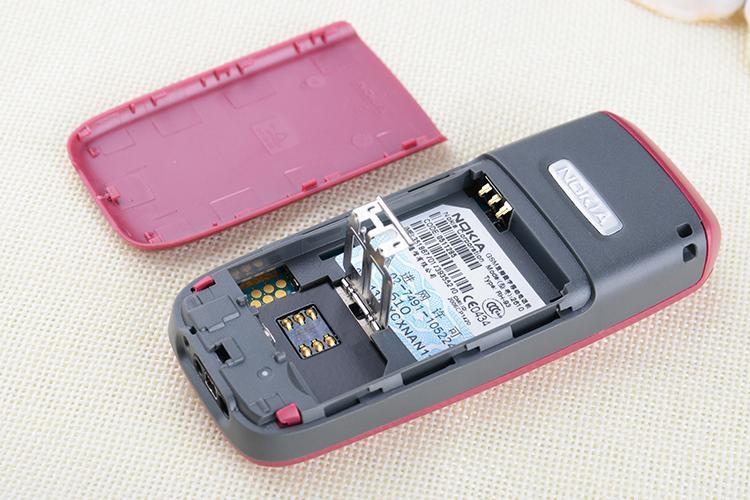 Refurbished Original Unlocked Nokia 2610 the Cheapest multi-language Cellphone white 17