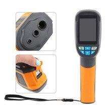 Discount! HT-02D Handheld Thermal Imaging Camera Infrared Thermometer IR Thermal Imager thermometre infrarouge termometro infravermelho